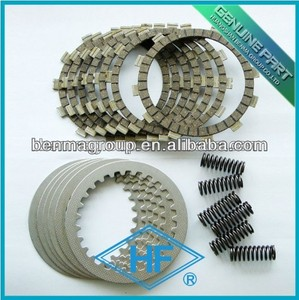 Dirt bike clutch kits with steel plate and springs for racing bike!