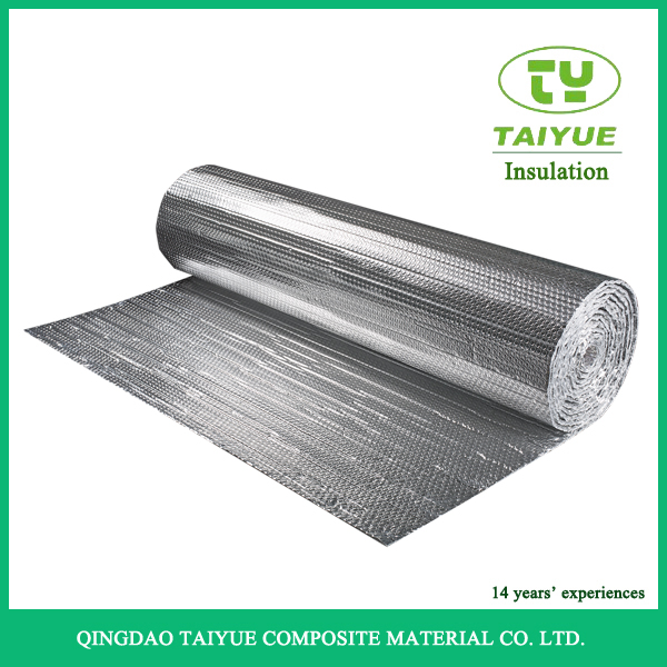 Thermal Insulation and Fireproof Aluminum Foil Bubble Insulation heat absorbing building materials
