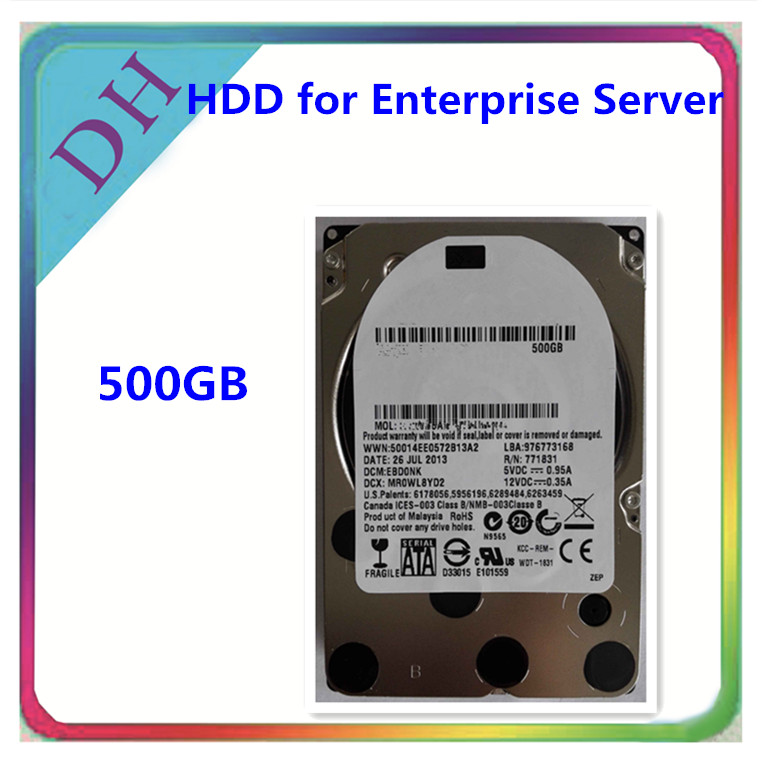 500 GB Workstation Hard Disk: 3.5 Inch, 10000 RPM, SATA III, 64 MB Cache