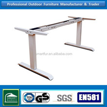 High quality double dynamo cast iron electric table base sit stand desks legs