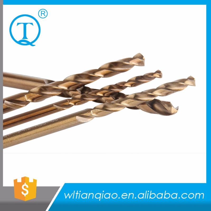 M42 8% DIN338 HSS-CO cobalt drill bit, Straight shank twist drill,specially used in stainless steel processing