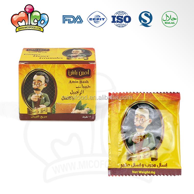 Amin Bash Instant Honey Ginger Tea - 4uTea   4uTea.com