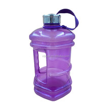 BPA FREE 2.2L plastic sports fitness drinking water bottle jug with handle for whey protein power