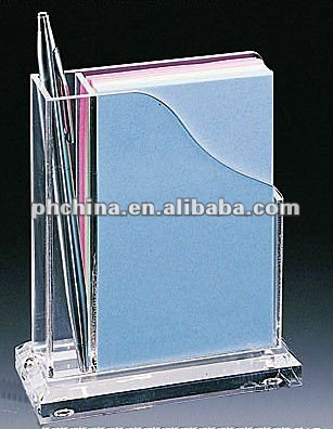 VC-3043 Multi-function As Pen Holder/Book Holder,Clear Acrylic Desktop Holder/Display