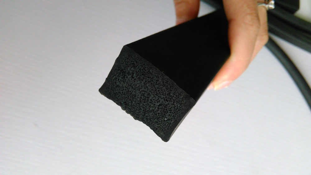 Square Sponge Epdm Rubber Profile Square Sponge Rubber