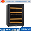 Home use Double tempered wine chiller display cooler