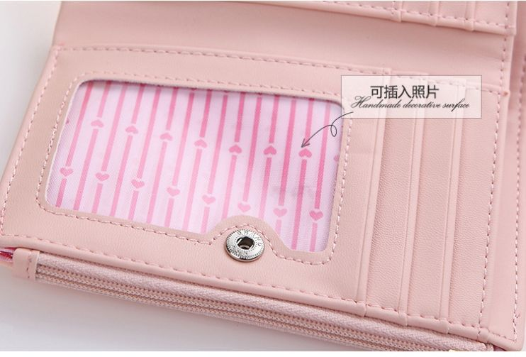 2017 New brand names women wallet