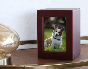 Pet Memorials MDF Pet Photo Cremation Urn
