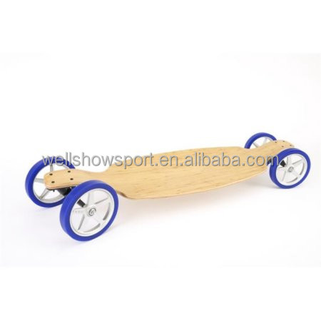Wellshow Sports Aluminum Canadian Maple Skateboard With Handle For Sports Wholesale
