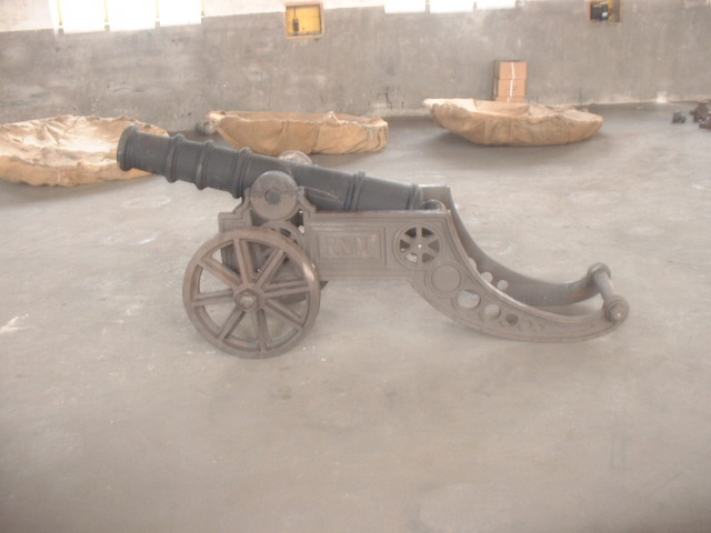 Antique Metal Cast Iron Craft Model Cannon China