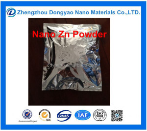 Supply 99.999 nano zinc powder price 20nm 50nm 100nm