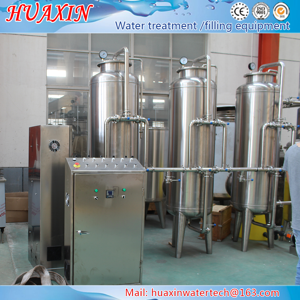 2017 hot sale export mineral water / alkaline water purifier / 7 stages water water purification