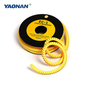 Ec Type Cable Marker/ Clip Cable Marker From Direct Factory