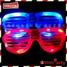 Special design widely used led party prop glasses