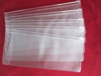 Promo Clear See Through Plastic Pvc Vinyl Transpa Window Zipper Travel Shampoo Bag Fabric Cloth Bags