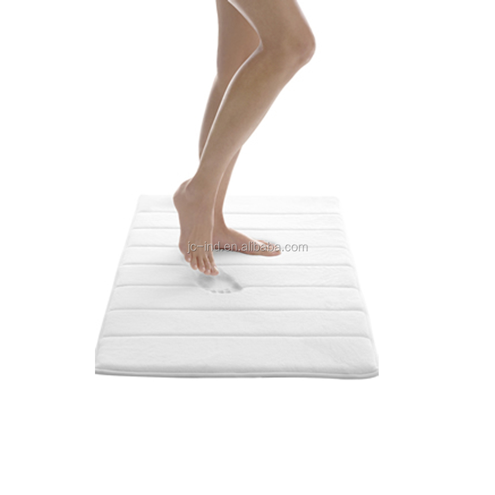 Luxury Absorb Water Dryable Bath Mat Set