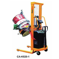 520 kg Semi-electric Drum Lifter with scale Drum handling