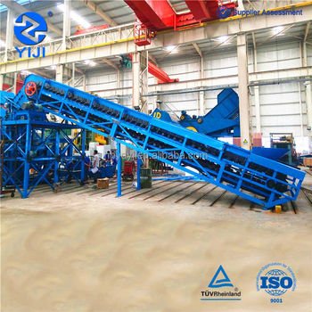 Heavy duty material handling equipment Apron conveyor for mineral