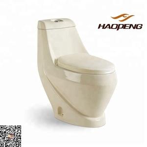 Sanitary Ware Factory Ivory Color Toilets For UAE/Dubai/Kuwait/Lebanon