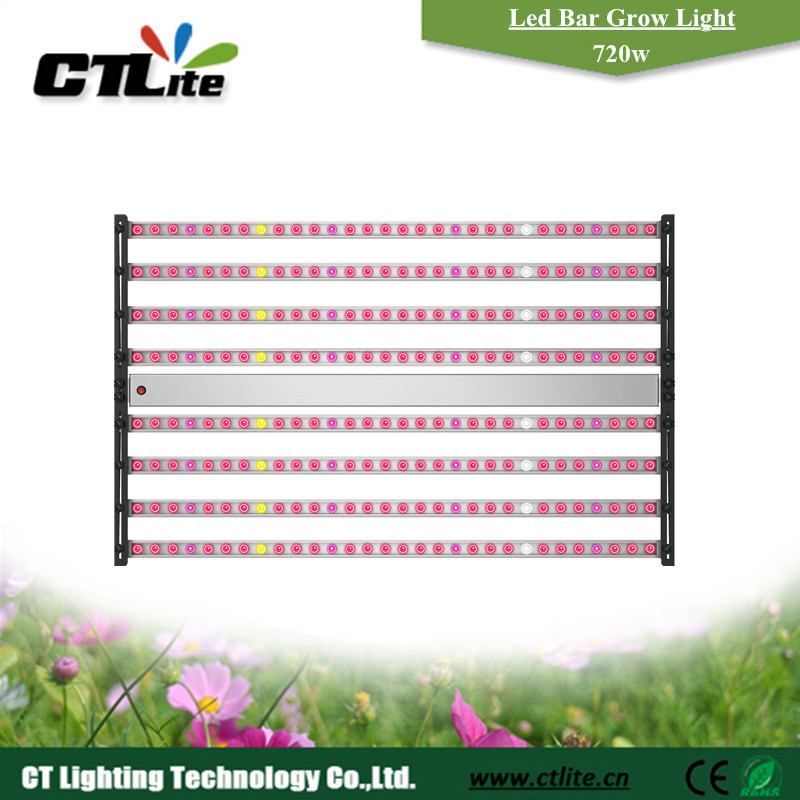 led plant grow fitolampy high par value led grow light bar with high waterproof level