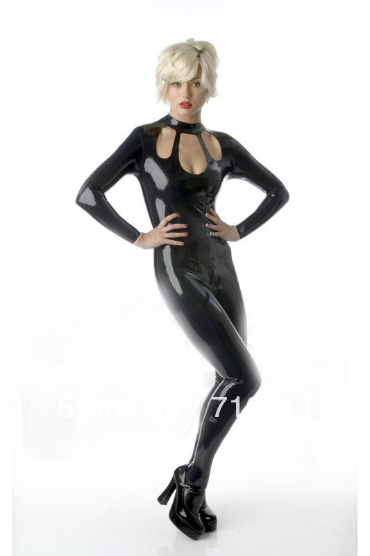 Hot girl wearing latex gloves pity