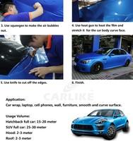 Carlike Chameleon Glitter Glossy Dark Blue Car Wrap Sticker Film ...