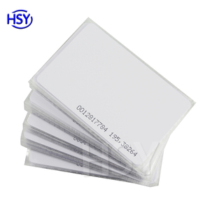Factory price direct plastic em4100 tk4100 chip 125khz rfid id card
