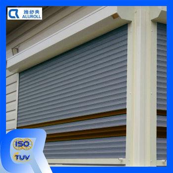 Aluminum electric window roller shutter style buy - Electric window shutters interior ...