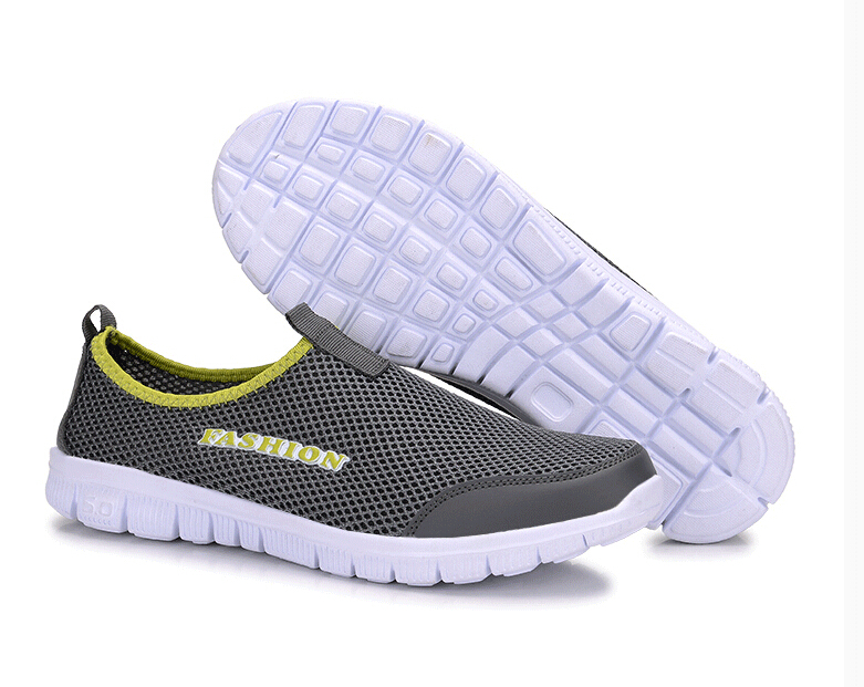 Plus size 34~46 new 2015 fashionable men women lightweight breathable mesh shoes summer gauze sport Flats sandals Sneakers