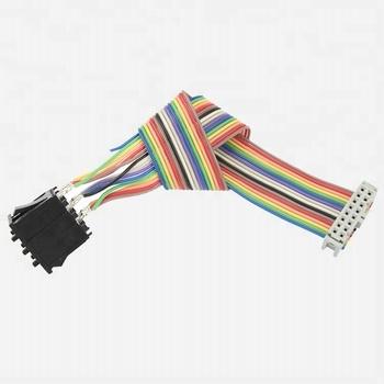 04f9615e932c 1.27mm Idc Rainbow Flat Ribbon Cable Ul2651 28wag - Buy Flat Ribbon ...