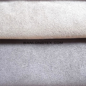 fire proof micro fiber suede for sofa fabric