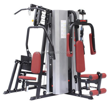 New Commercial Multi Station Gym Equipment 5 Station Exercise Fitness Machine WT-H95A