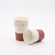 wholesale custom printed disposable 4oz 6oz paper coffee cups