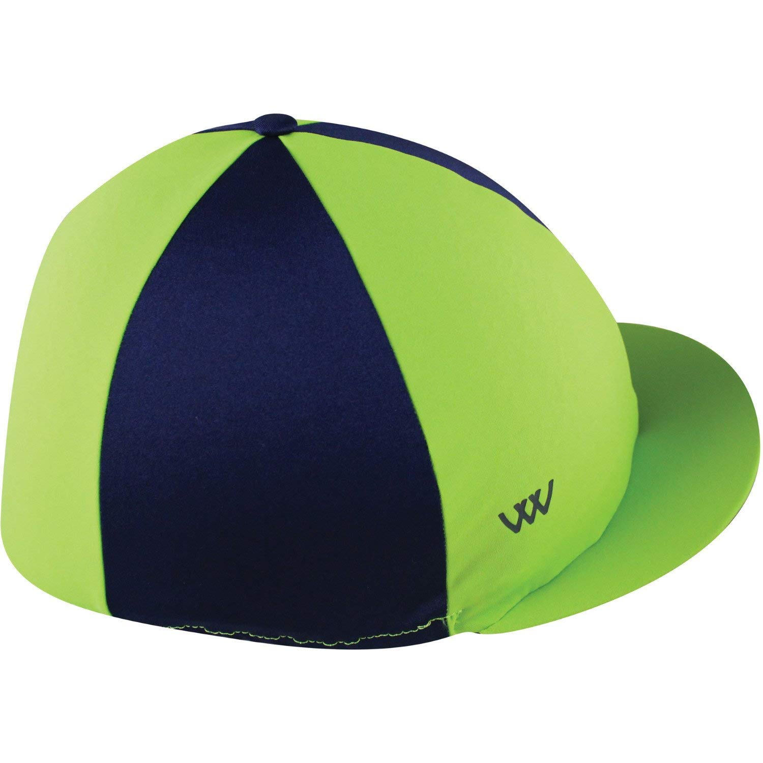 Get Quotations · WOOF WEAR Lycra Hat Cover One Size Lime Navy 308fab76c00d