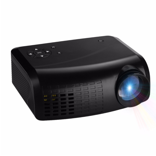 Hot sale! Embrace E07 Mini LED LCD Projector Home Theater AV/USB/VGA/HDMI//TF 1280*800 Proyector,100Lumen Projector With Playbac