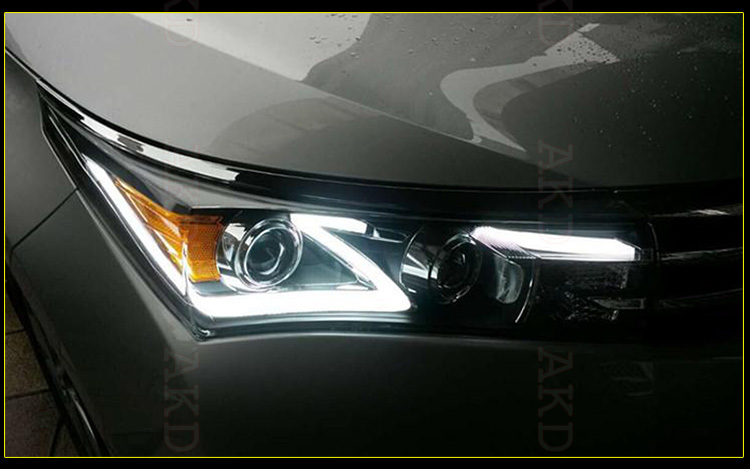 Akd Car Styling Toyota Corolla Led Headlight 2014-2015 Corolla ...