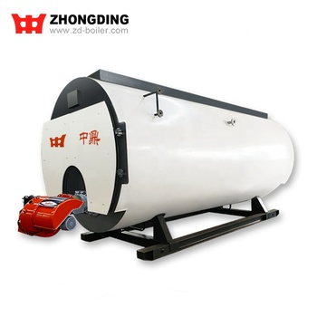 Textile / Chemical / Food and Brewery Use Fire Tube Oil Gas Steam Industrial Boiler Prices