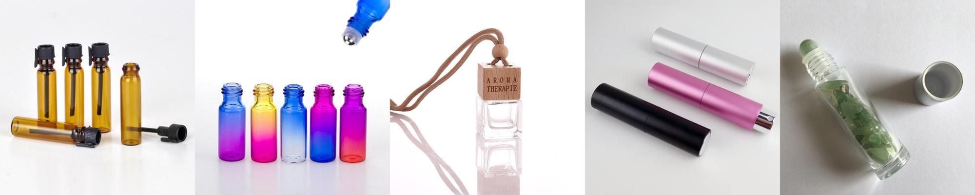 20 ミリリットル空のガラス香水 20 ミリリットル詰め替えボトルの装飾