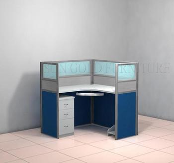 Modern Office Desk Partition Glass Partitions / Cubicle Designs (SZ WSB359)