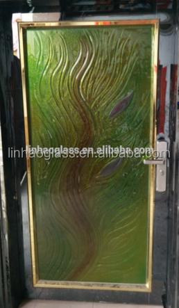 porta interna in vetro decorativo, vetro decorativo per porta ... - Legno Di Teak Porta Dingresso Di Fusione