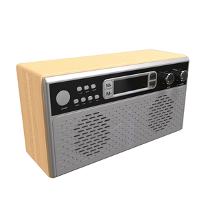 Bluetooth Dab radio with wooden frame
