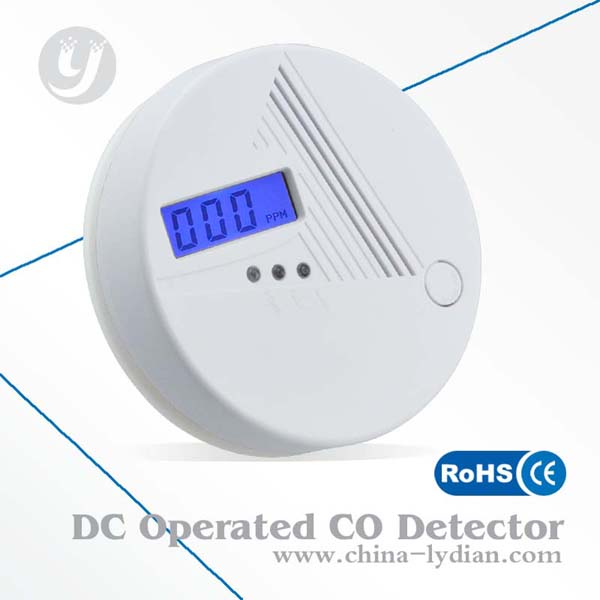 London detect poisonous co gas co carbon monoxide poisoning smoke gas sensor warning alarm detector tester lcd wholesaler