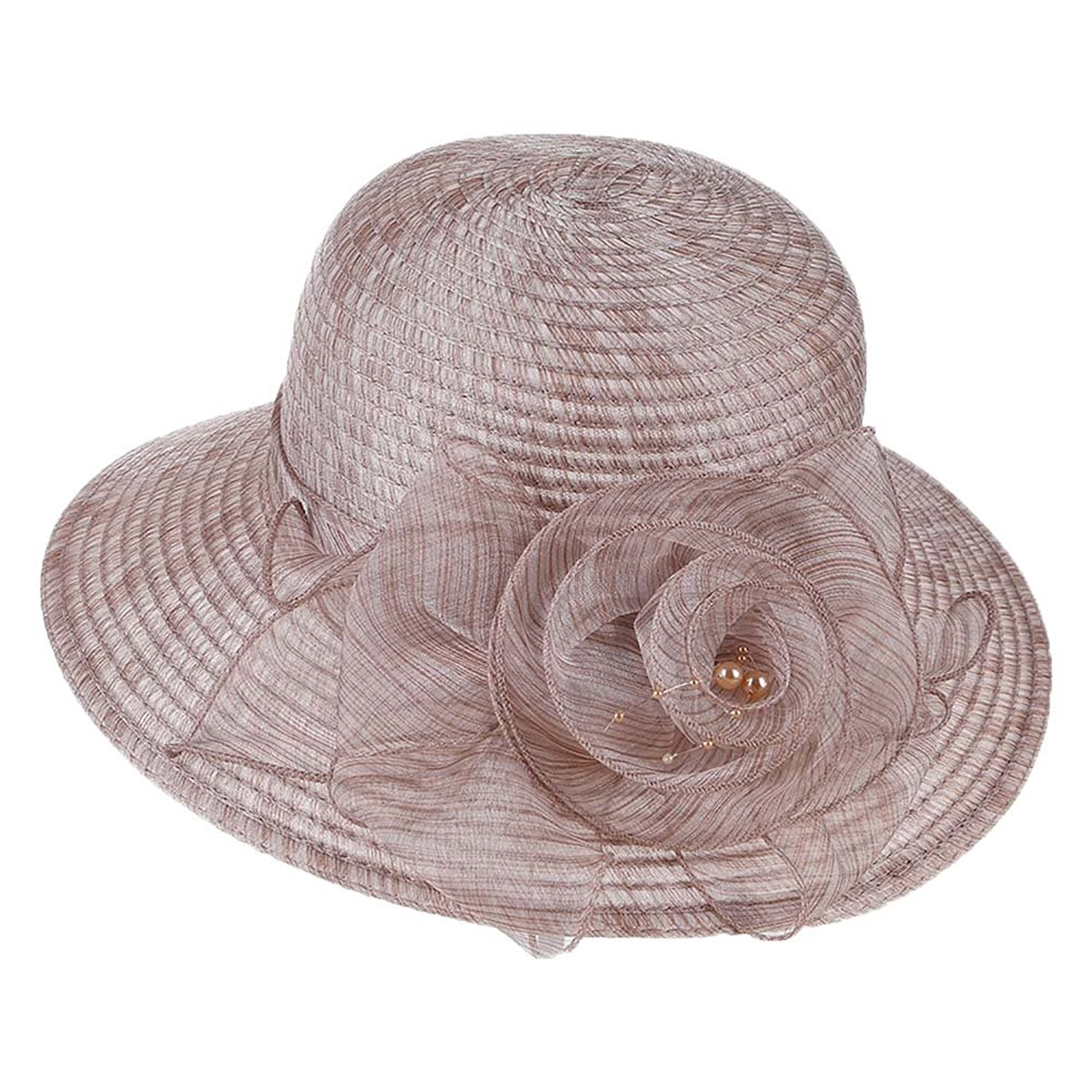 84fd6f4af49 Get Quotations · BUYITNOW Woman Summer Straw Beach Sun Hats For Women
