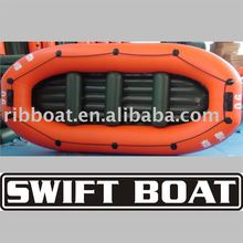Inflatable whitewater raft ลอยเรือ