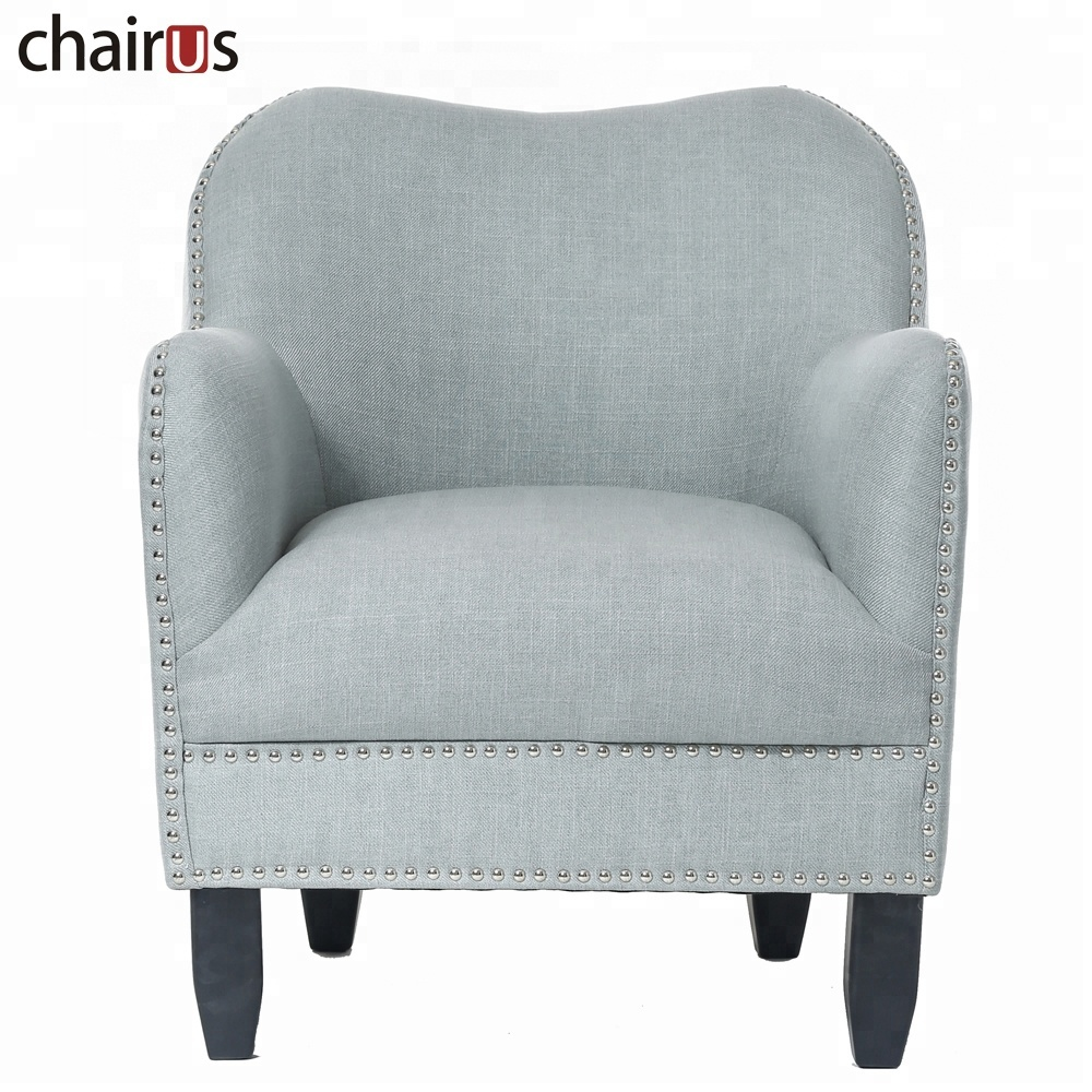 Wooden Lounge Armchair Sofa Leisure Single Accent Floor Tub Hotel Wood Arm Club Living Room Chair
