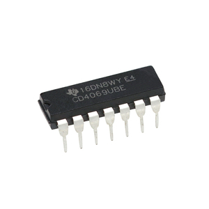 Logic Chip CD4069 New IC DIP-14 Integrated Circuit 4069UBE CD4069UBE