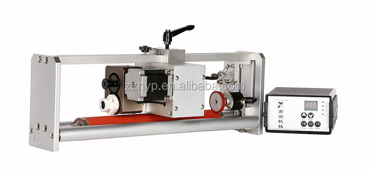 NY-808A Batch Expiry Hot Solid Ink Roll Coding Machine with Encoder