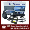 High Quality 12 Months H13 9007 H4 h/l hid kit 35w beam xenon light With Canbus Slim Ballast HID Kit