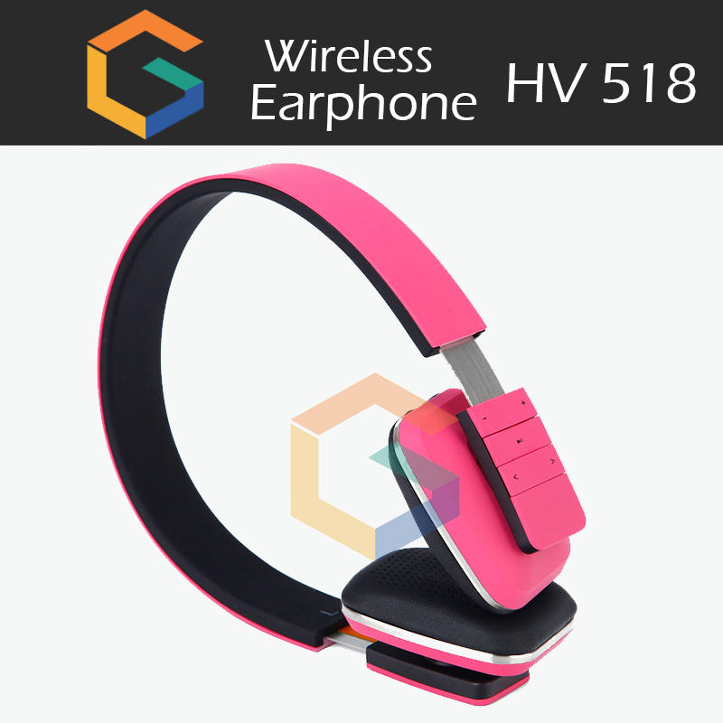 2017 New colorful 4.0 headset best quality headphone for running/sport wireless earphone hv518