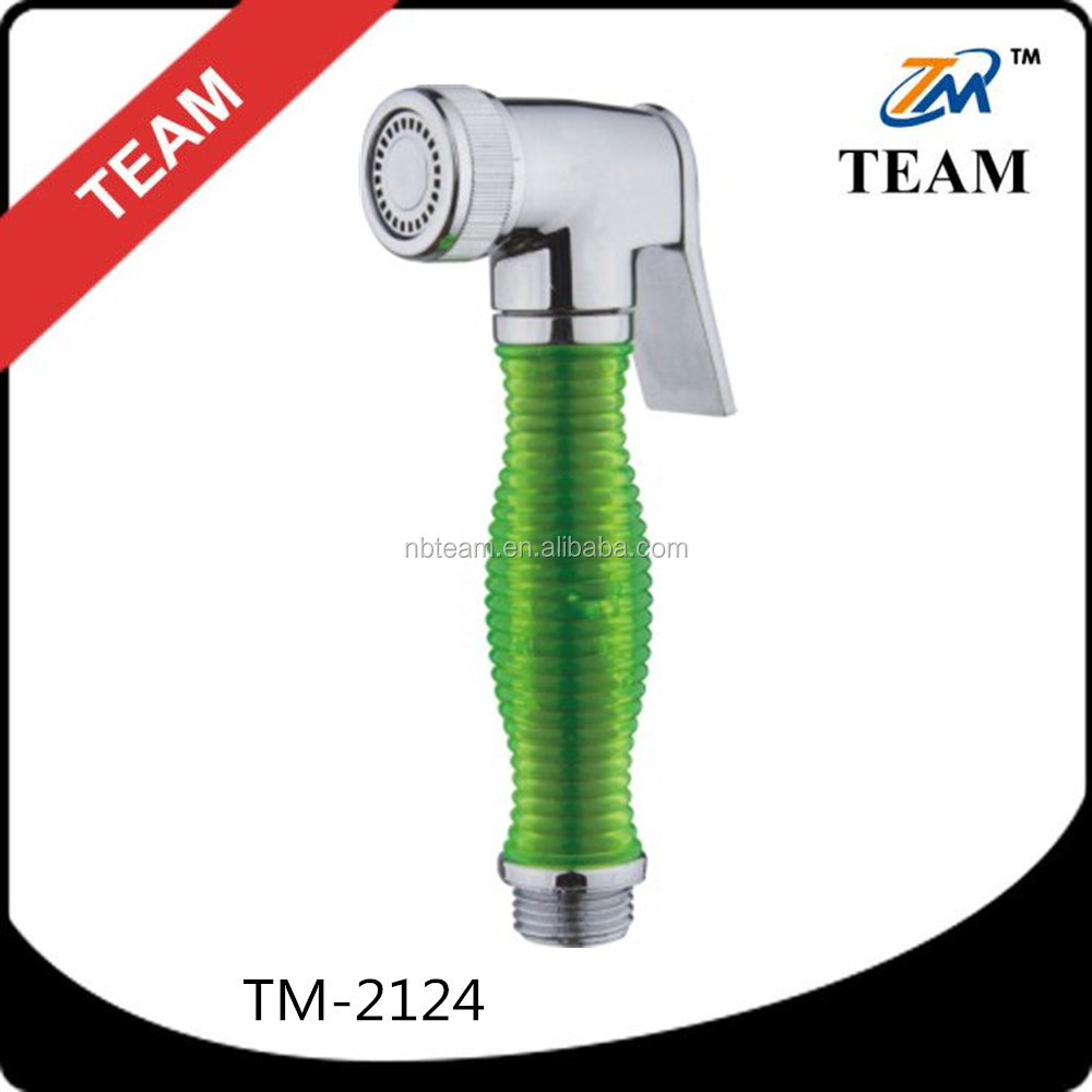 TM-2124 Bathroom plastic hand held shattaf bidet spray